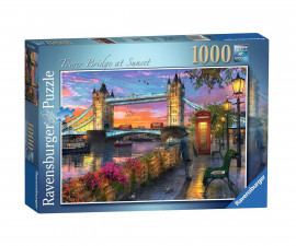 Ravensburger 15033 - пъзел 1000 ел. - Залез над Tower Bridge
