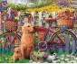Ravensburger 15036 - пъзел 500 ел. - Сладки кучета в градината thumb 2