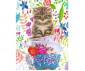 Пъзел за деца и възрастни Ravensburger 500 части - Коте в чашка thumb 2