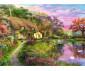 Пъзел за деца и възрастни Ravensburger 500 части - Къща в провинцията thumb 2