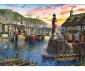 Пъзел за деца и възрастни Ravensburger 500 части - Изгрев на пристанището thumb 2