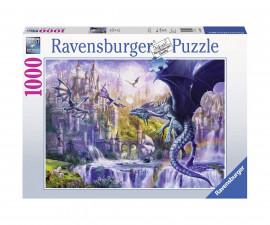 Пъзел Ravensburger 1000 части - Замъкът на дракона