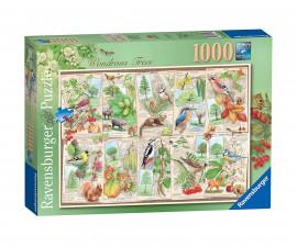 Ravensburger 16421 пъзел за деца и възрастни 1000 ел. - Великолепни дървета