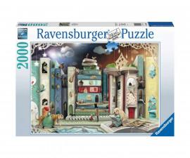 Пъзел за деца и възрастни Ravensburger 2000 части - Авеню на романите