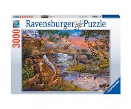 Пъзел за възрастни Ravensburger 3000 ел. - Животинско царство