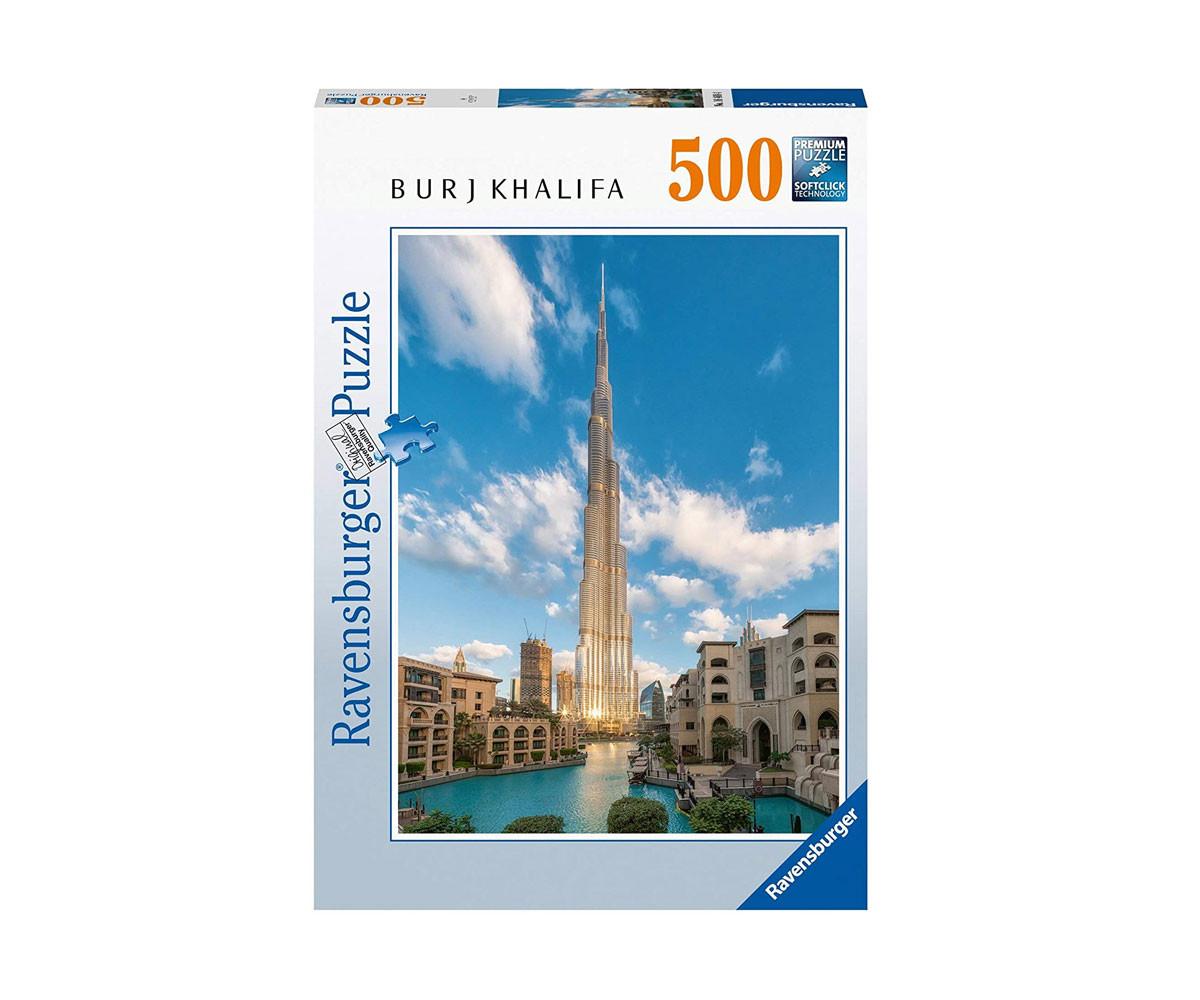 Пъзел за деца и възрастни Ravensburger 500 части - Бурдж Халиф, Дубай