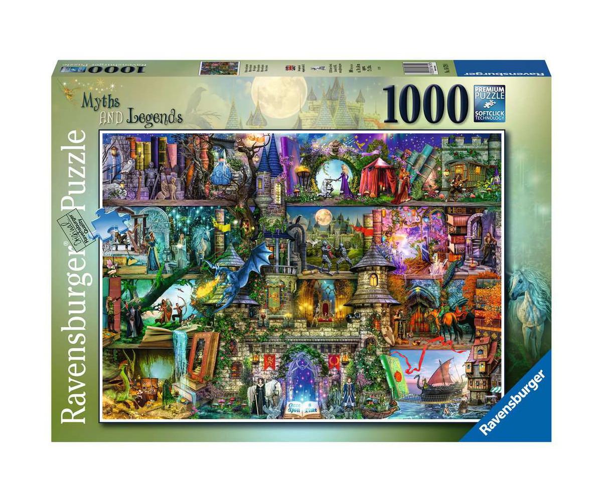 Ravensburger 16479 - пъзел 1000 ел. - Митове и легенди