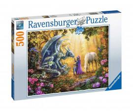 Ravensburger 16580 - пъзел 500 ел. - Драконов шепот