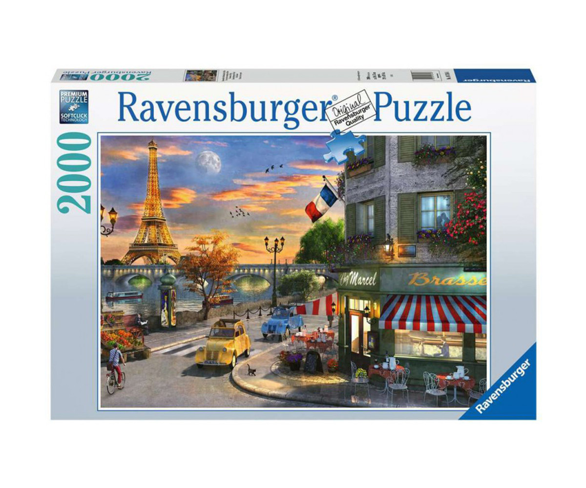 Ravensburger 16716 - пъзел 2000 ел. - Романтична вечер в Париж