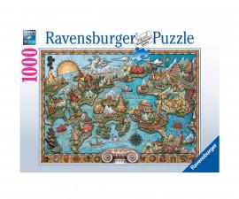 Ravensburger 16728 - пъзел 1000 ел. - Тайнствената Атлантида