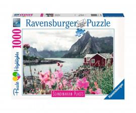 Ravensburger 16740 - пъзел 1000 ел. - Лофонтен, Норвегия