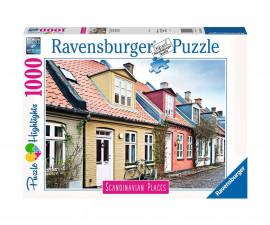 Ravensburger 16741 - пъзел 1000 ел. - Арихуус, Дания