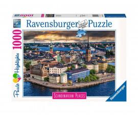 Ravensburger 16742 - пъзел 1000 ел. - Стокхолм, Швеция