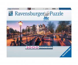 Ravensburger 16752 - пъзел 1000 ел. - Вечер в Амстердам