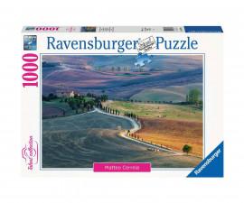 Ravensburger 16779 - пъзел 1000 ел. - Тосканска ферма, Пиенца Италия