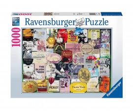Ravensburger 16811 пъзел за деца и възрастни 1000 ел. - Етикети за вино