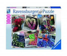 Ravensburger 16819 - пъзел 1000 ел. - Цветя в Ню Йорк