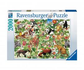 Ravensburger 16824 - пъзел 2000 ел. - Джунгла