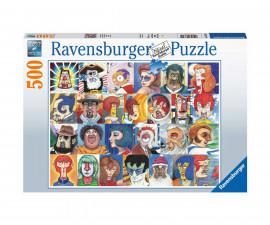 Ravensburger 16830 - пъзел 500 ел. - Шрифтове