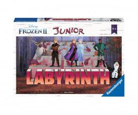 Детска настолна игра лабиринт джуниър Ravensburger - Замръзналото кралство 2