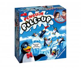Детска настолна игра Ravensburger - Пингвини на айсберг