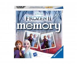 Детска настолна игра мемори Ravensburger 72 карти - Замръзнолото кралство 2