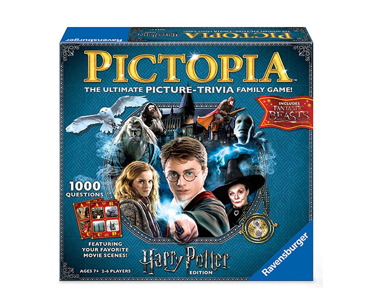 Детска настолна игра Ravensburger - Harry Potter Pictopia