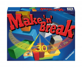 Настолна игра Ravensburger - Make and Break