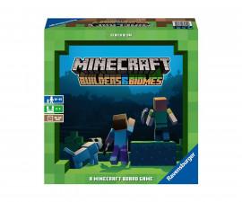 Ravensburger 26867 - Настолна игра Minecraft - Строители и биоми