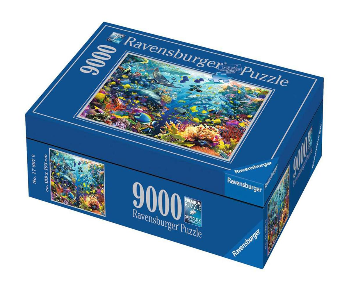Пъзел за възрастни Ravensburger 9000 ел. - Подводен рай