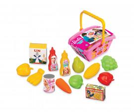 Dede 01515 - Малка кошница за пазар с продукти, Барби