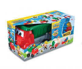Dede 03434 - Камионче с блокчета за строене, 30 ел.