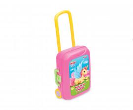Dede 03485 - Комплект за красота в куфар на колела