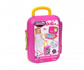 Dede 03487 - Комплект за красота в куфар на колела, Мини Маус