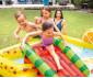 детски надуваем център за игра с пързалка Плодове Интекс thumb 3