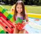 детски надуваем център за игра с пързалка Плодове Интекс thumb 6