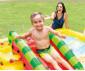 детски надуваем център за игра с пързалка Плодове Интекс thumb 7