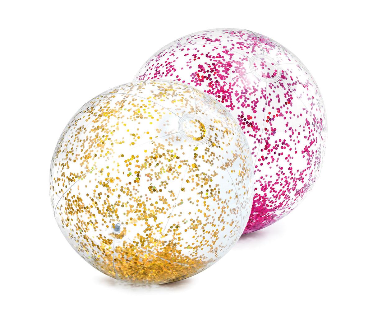 INTEX 58070NP - Transperent Glitter Beach Balls