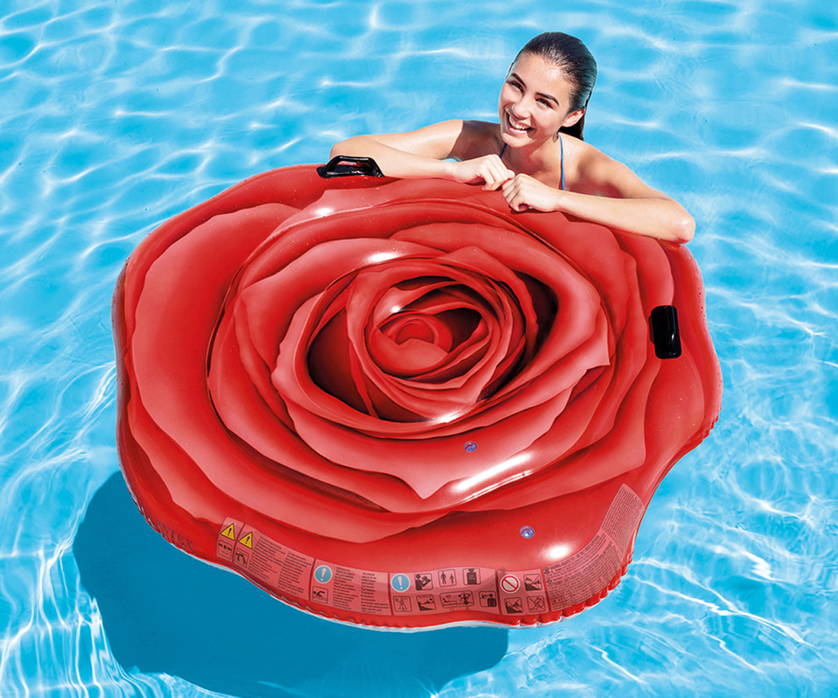 INTEX 58783EU - Red Rose Mat