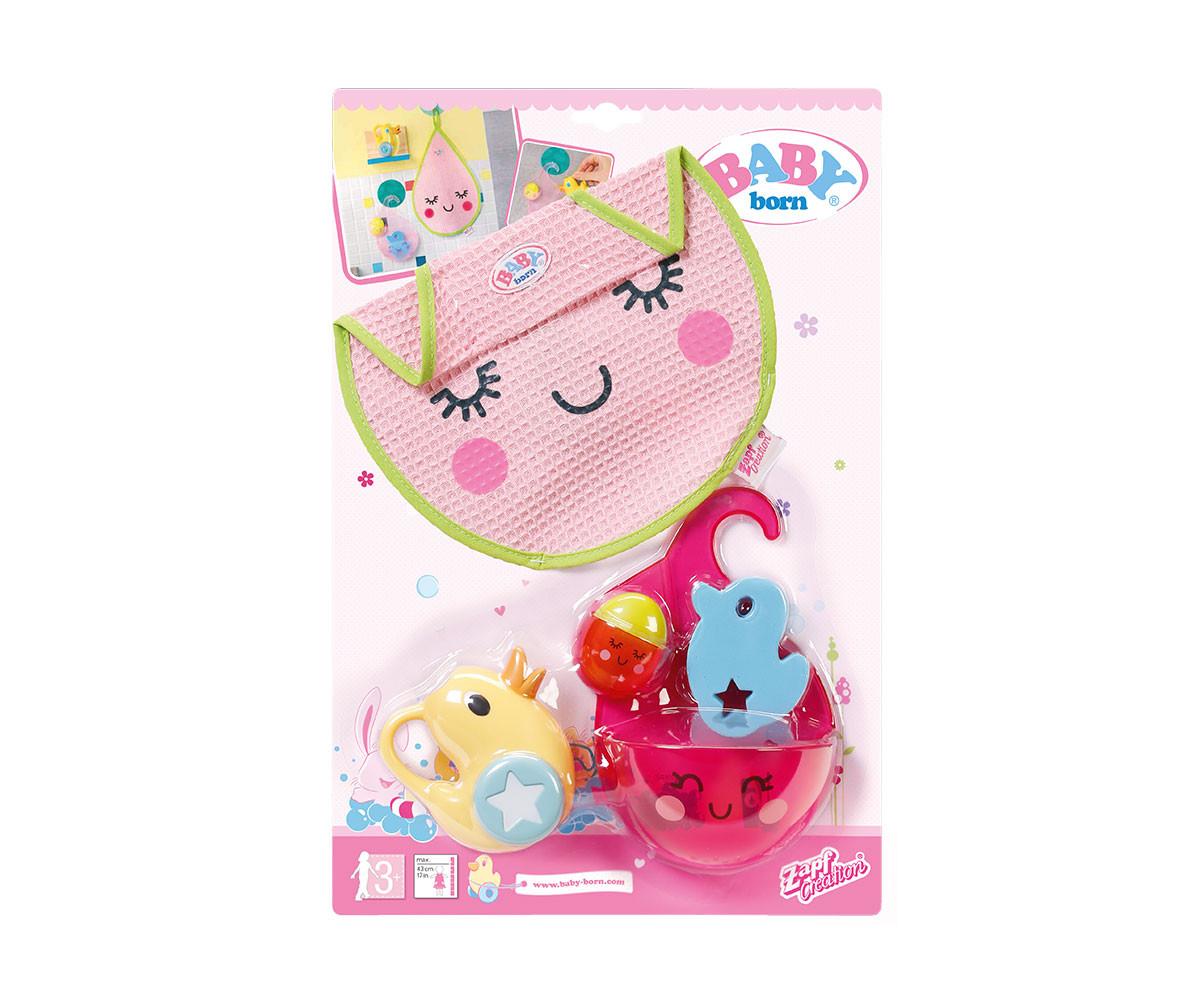 Аксесоари за кукла бейби Борн - Комплект аксесоари за баня 824641