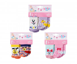 Аксесоари за кукла BABY Born - Чорапки за кукла 43см., асортимент