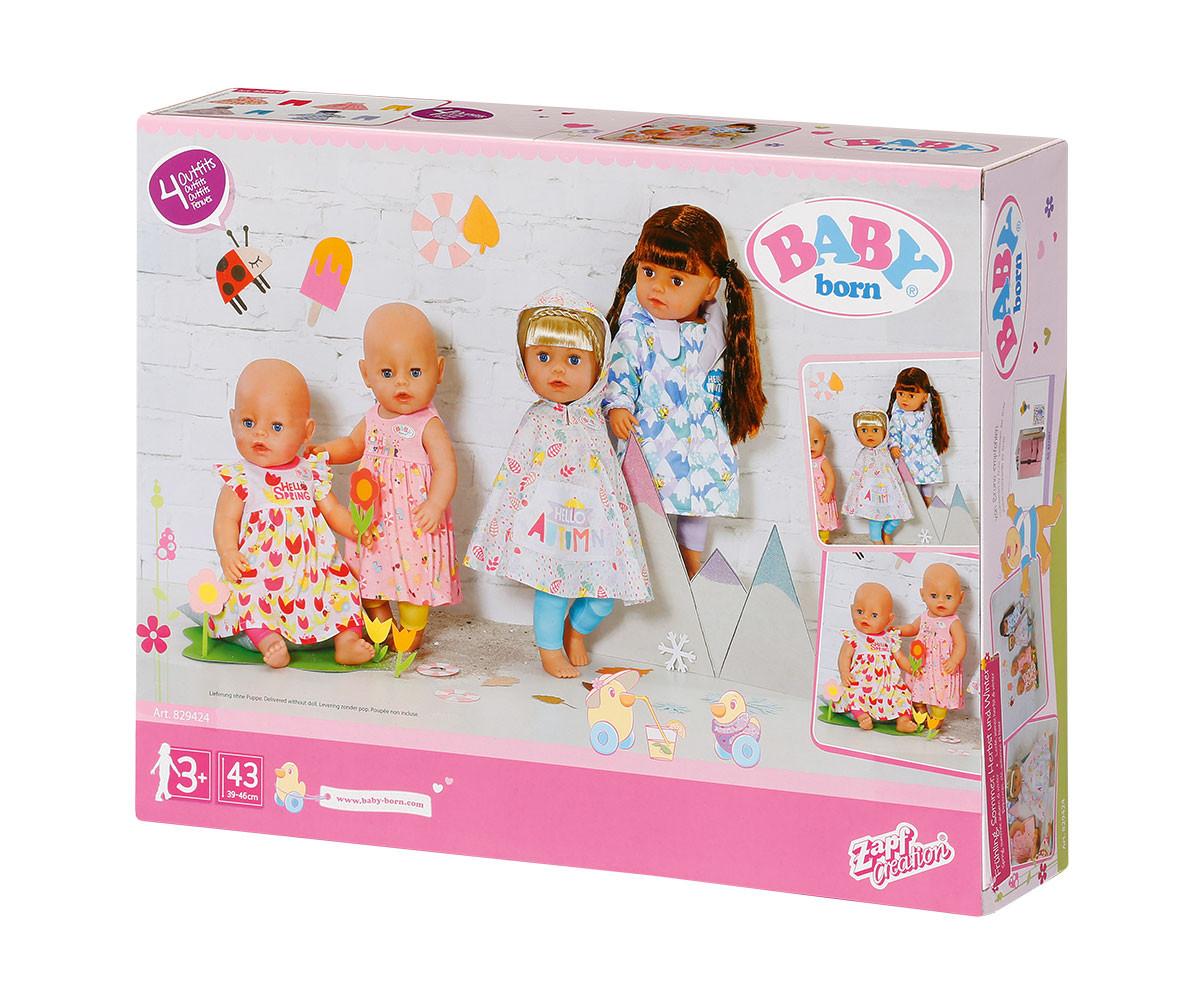 Аксесоари за кукла BABY Born - Сезонни дрешки за кукла 43 см., асортимент
