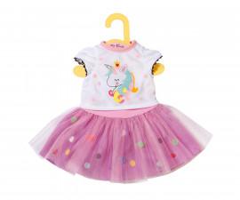 Аксесоари за кукла бейби Борн - Доли мода: Тениска Еднорог и Туту 870495