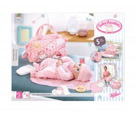 Детска кукла бебе - Baby Annabell - Комплект с чанта за преповиване