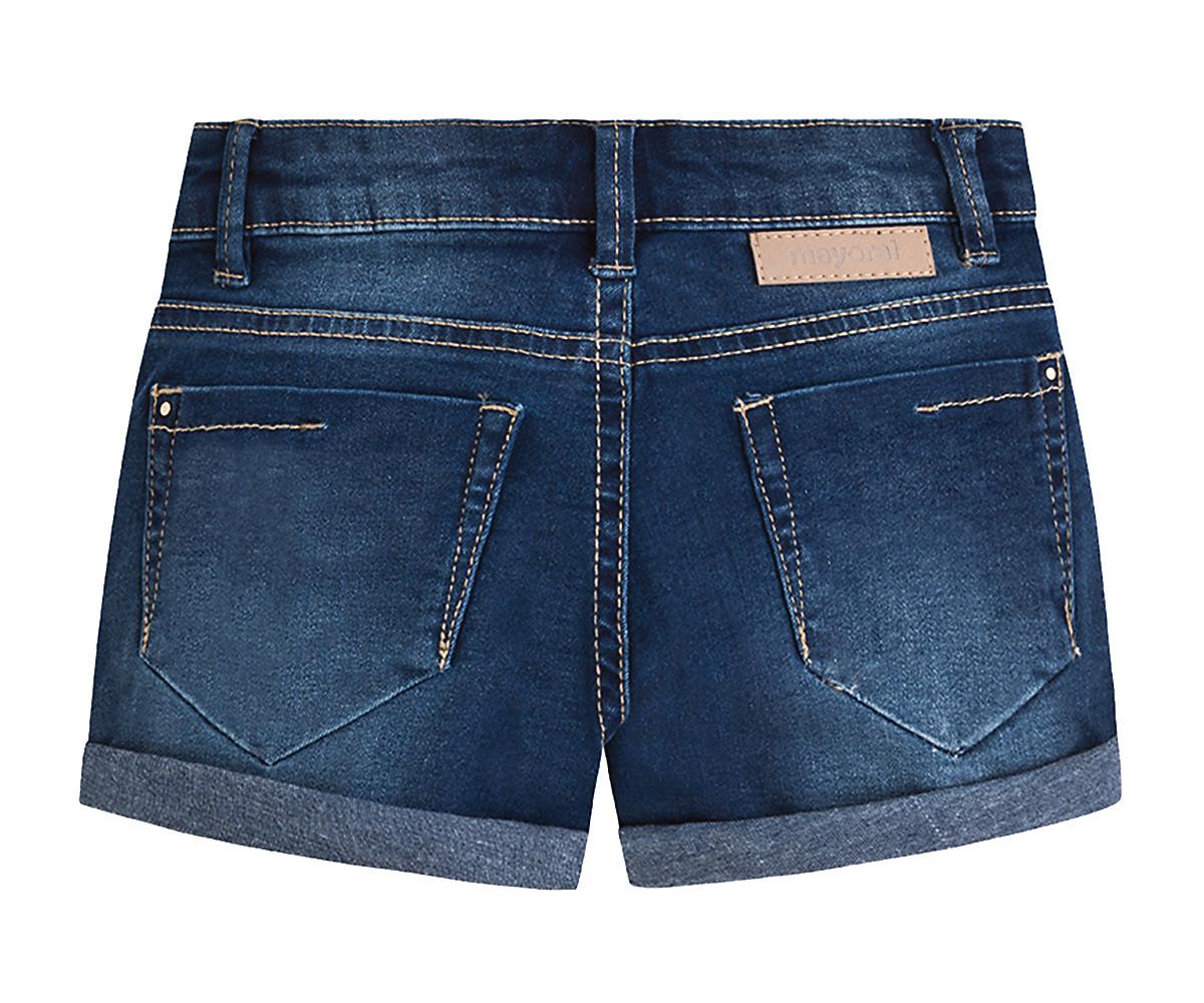 fb07df4ebd9 Детски къси дънкови панталони с навити краища Mayoral (фабр. № 236 ...