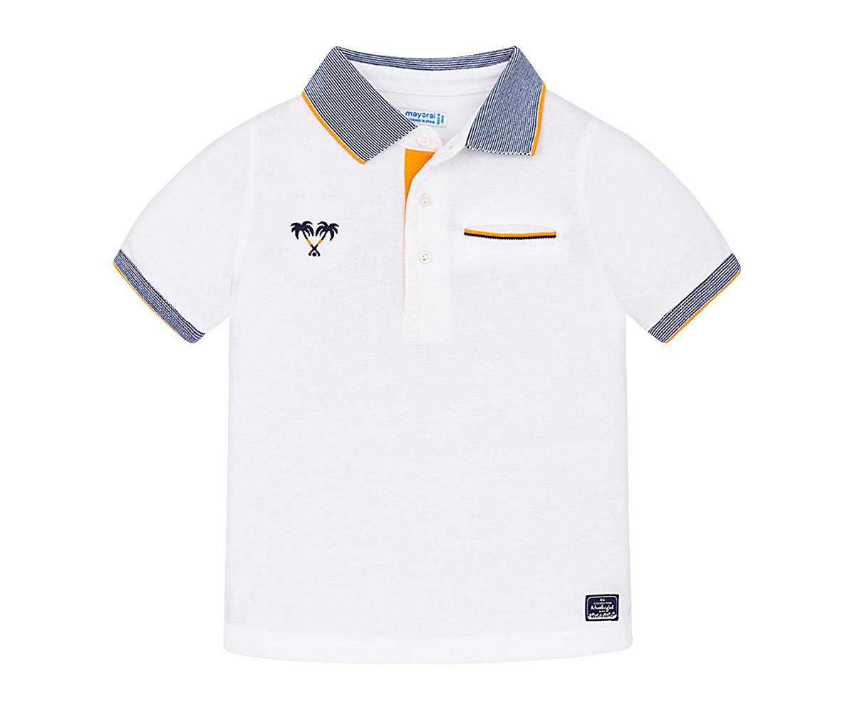 d9a8fef7580 Детска тениска с яка и къси ръкави Mayoral (фабр. № 3132) за момче ...