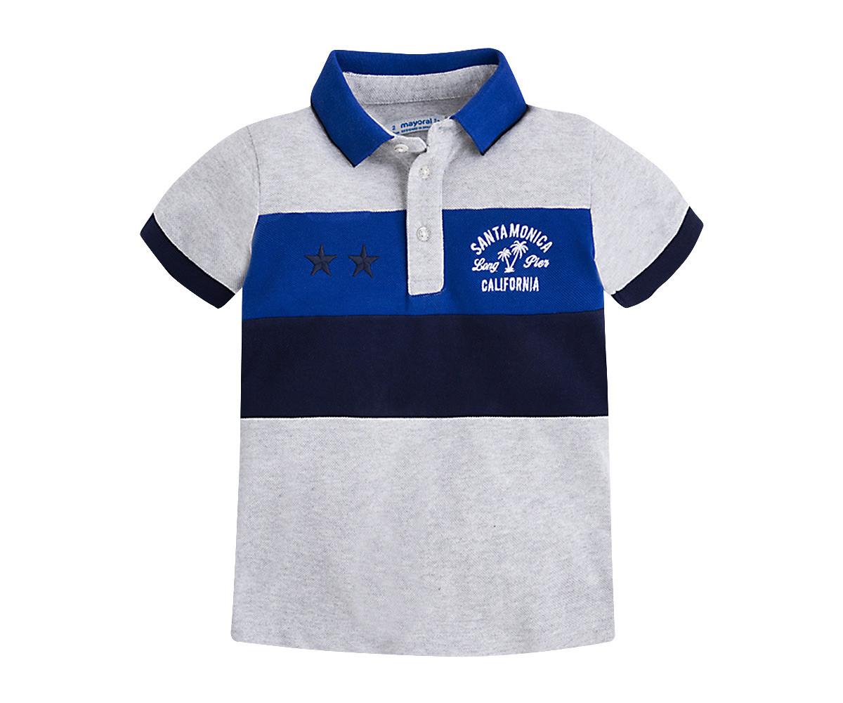 63f2617748a Детска тениска с яка и къси ръкави Mayoral (фабр. № 3136) за момче ...