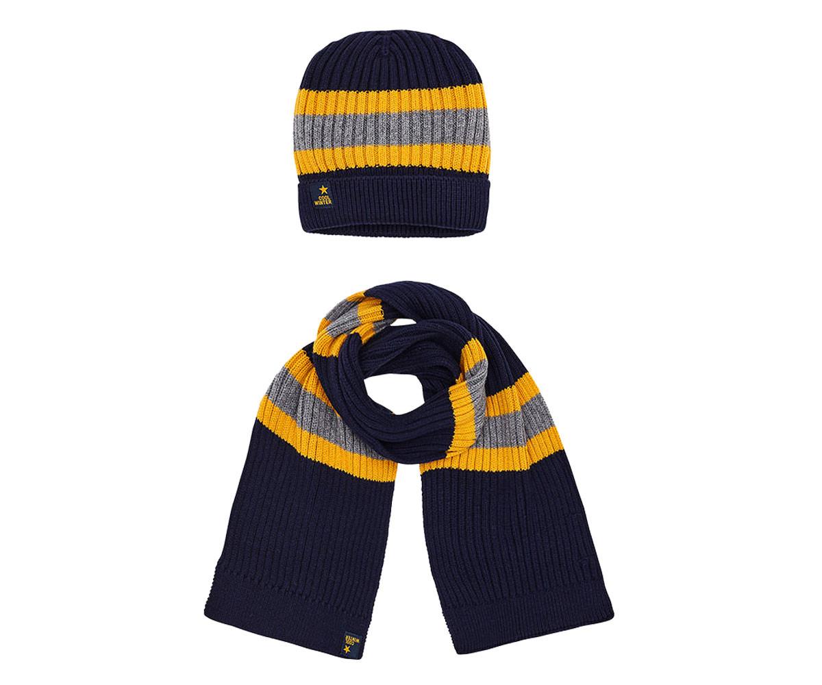 56987b4adec Детски комплект шапка с шал за момче Mayoral W18-10483-066, 3-9 г ...