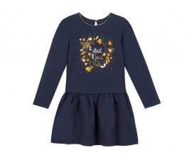 Детска рокля с дълъг ръкав 3Pommes 3P30004-485, 3-12 г.