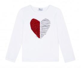 Детска блуза с дълъг ръкав 3Pommes 3P10034-01, за момиче на възраст 3-12 г.